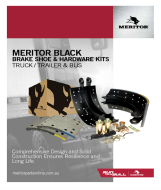 MERITOR BALCK - BRAKE SHOE KIT 0718